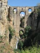El Puente Nuevo en Ronda, Málaga, España.